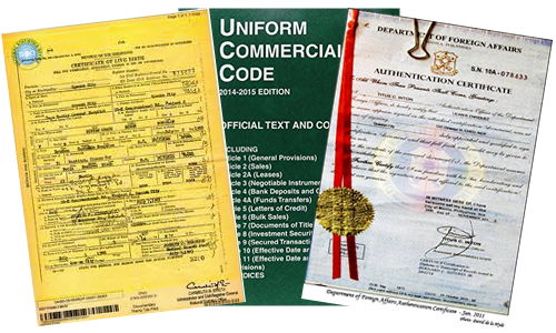 Birth Certificate Authentication, UCC codes, and Protection under ...